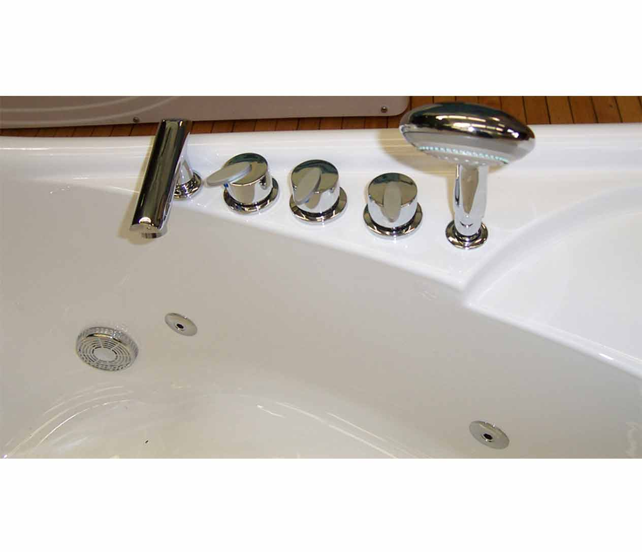 Ow 9028 Jetted Tub Luxury Spas Inc