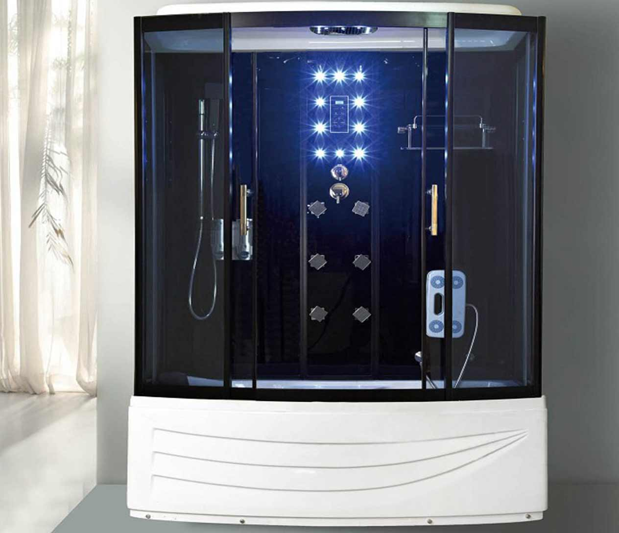 E-26 STEAM SHOWER - Luxury Spas, Inc.