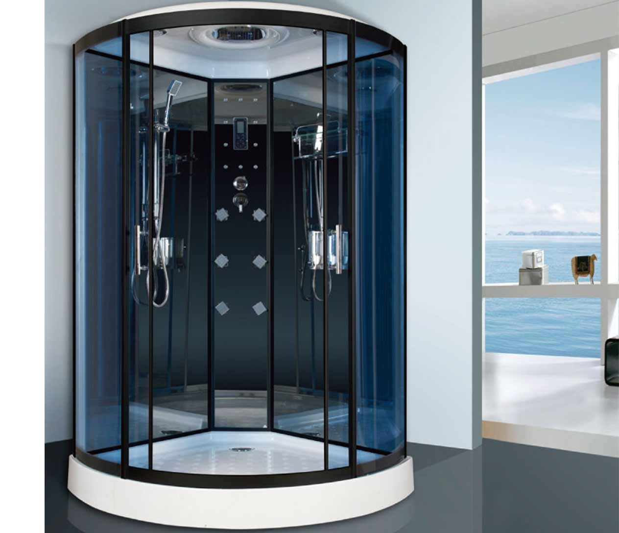 E 37 steam shower luxury spas inc - Luxury steam showers ...