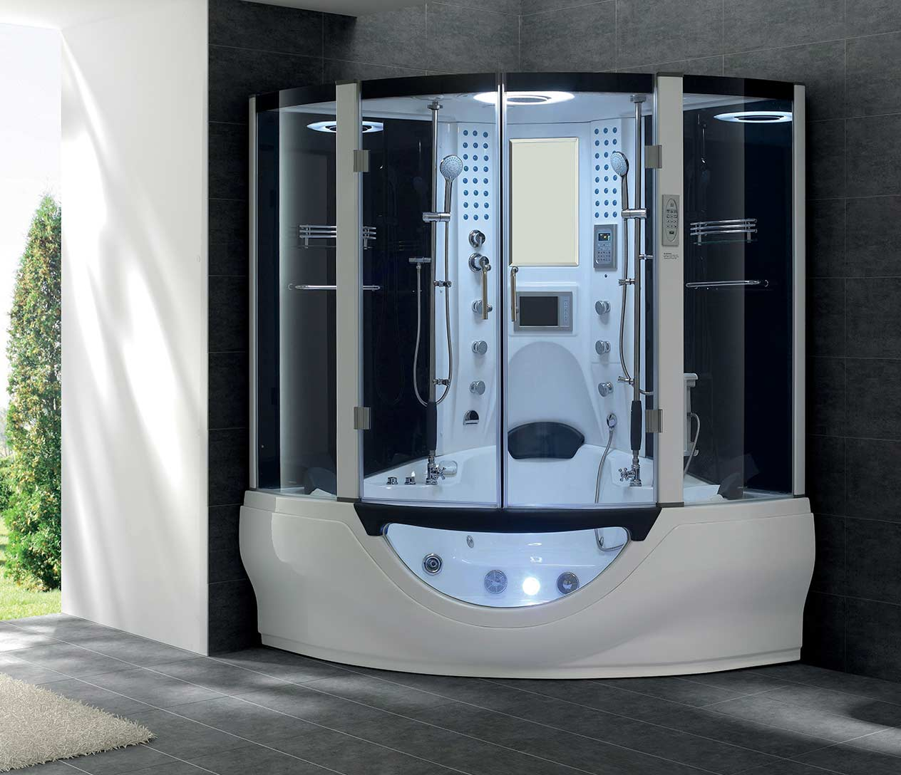 G160 STEAM SHOWER - Luxury Spas, Inc.