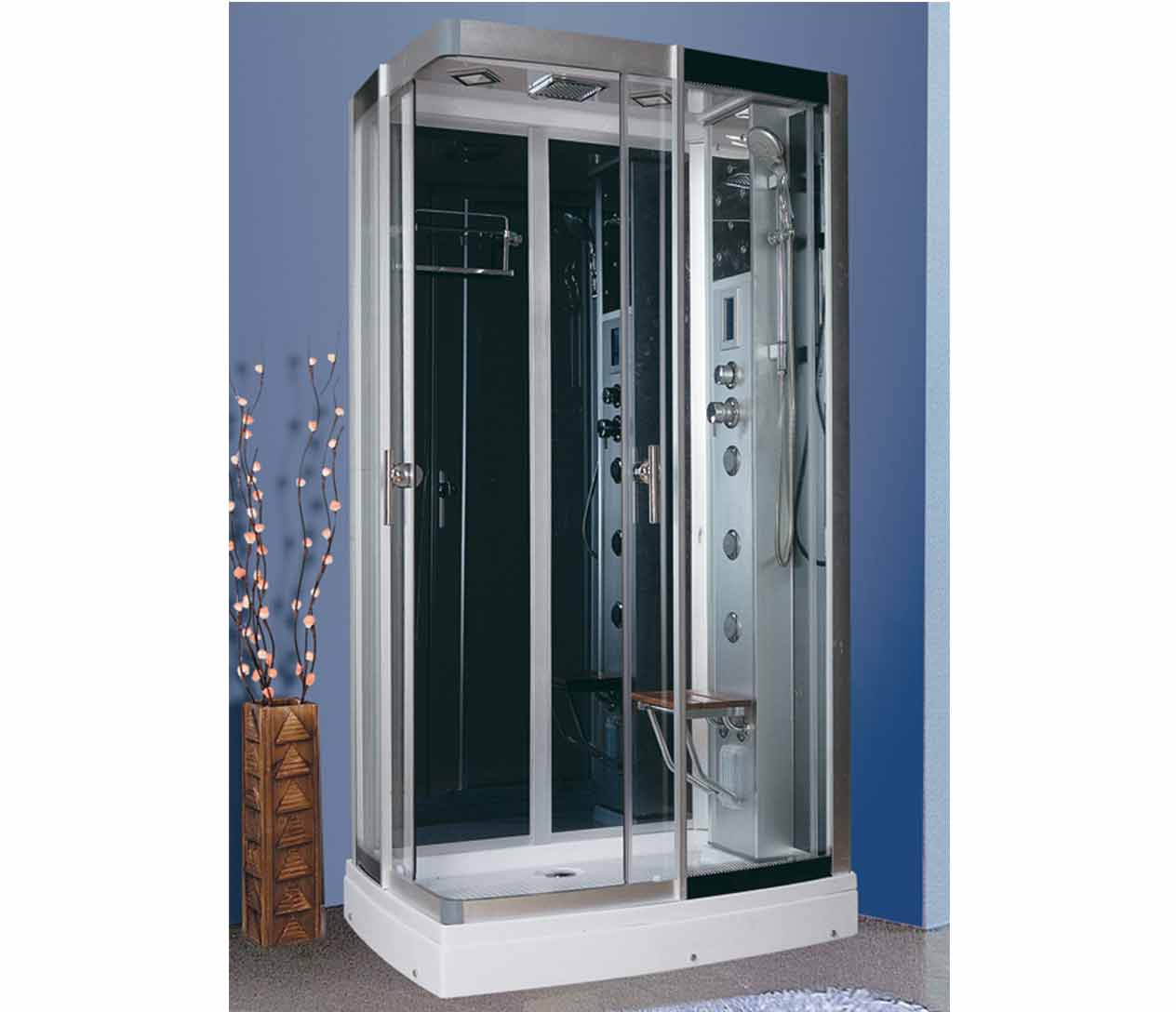 Ax 406 steam shower luxury spas inc - Luxury steam showers ...