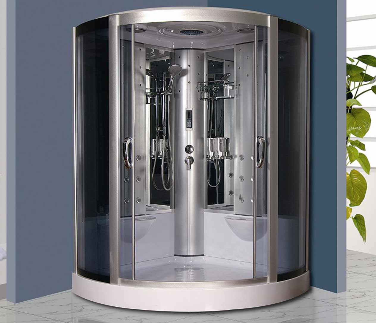 Ax 723 steam shower luxury spas inc - Luxury steam showers ...