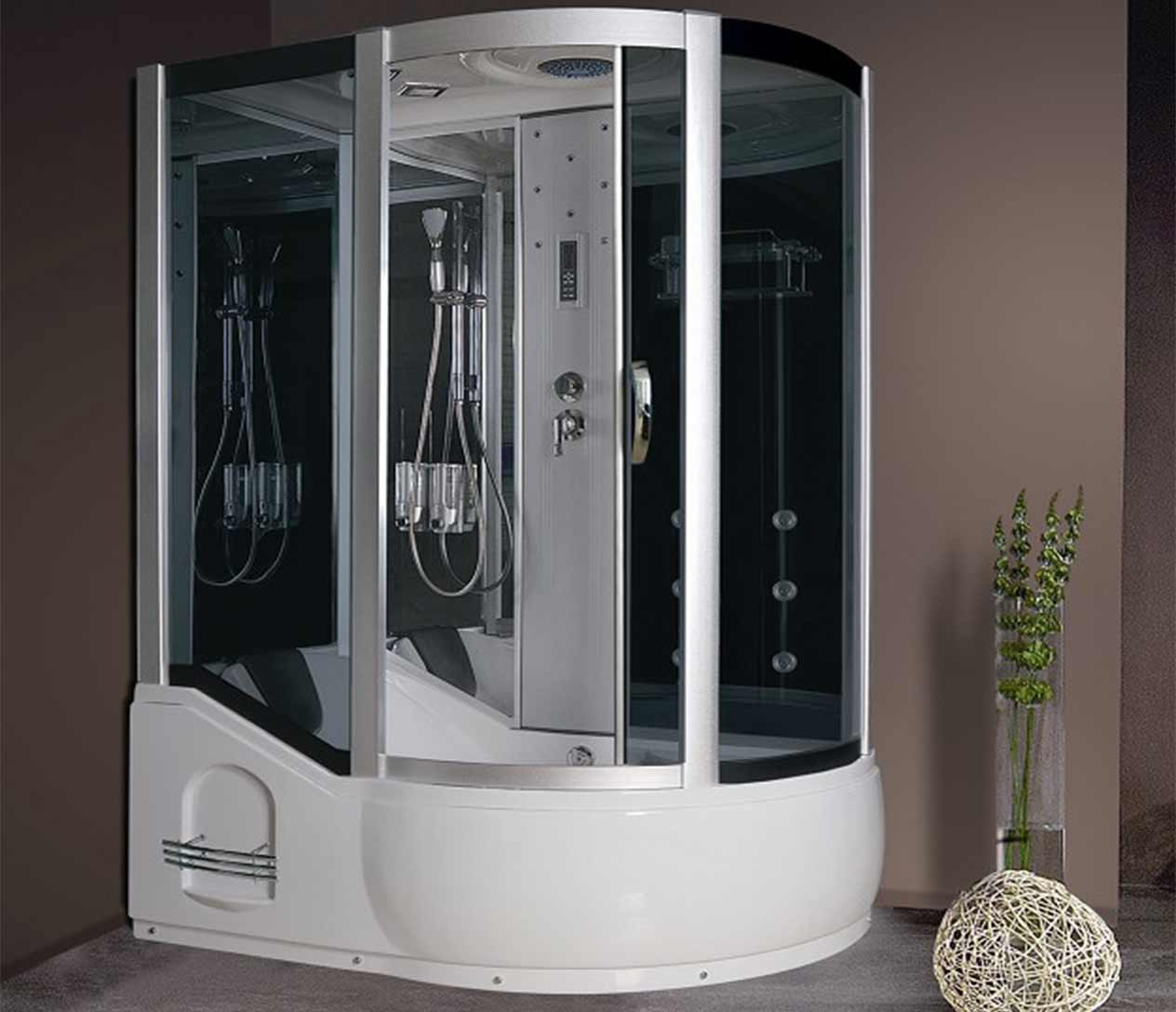 ax 725 steam shower l - Luxury Steam Showers